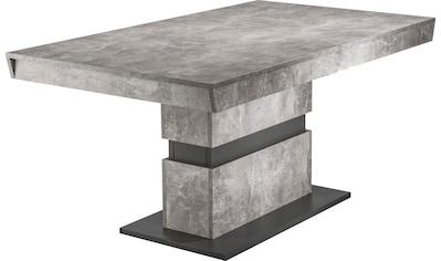 byLIVING Esstisch »Matthew«, Breite 140 oder 160 cm, in Beton-Optik kaufen