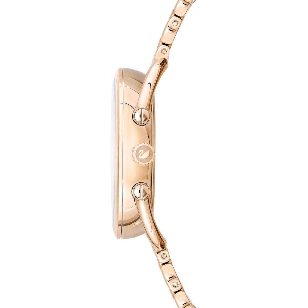 Swarovski Schweizer Uhr »CRYSTALLINE GLAM, 5452462«, (1 tlg.)