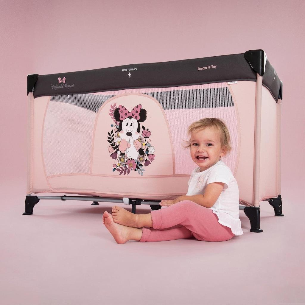 Hauck Baby-Reisebett »Dream N Play - Minnie Sweetheart«, inkl. Transporttasche