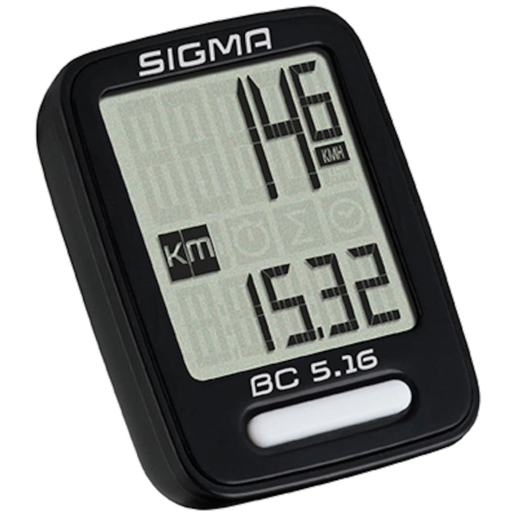 SIGMA SPORT Fahrradcomputer »BC 5.16«
