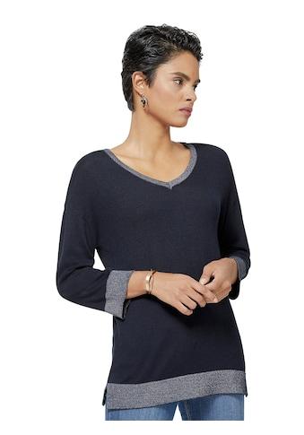 Creation L Pullover in  angenehm leichter Garn - Mischung kaufen