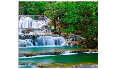 Artland Küchenrückwand »Tiefen Wald Wasserfall« kaufen