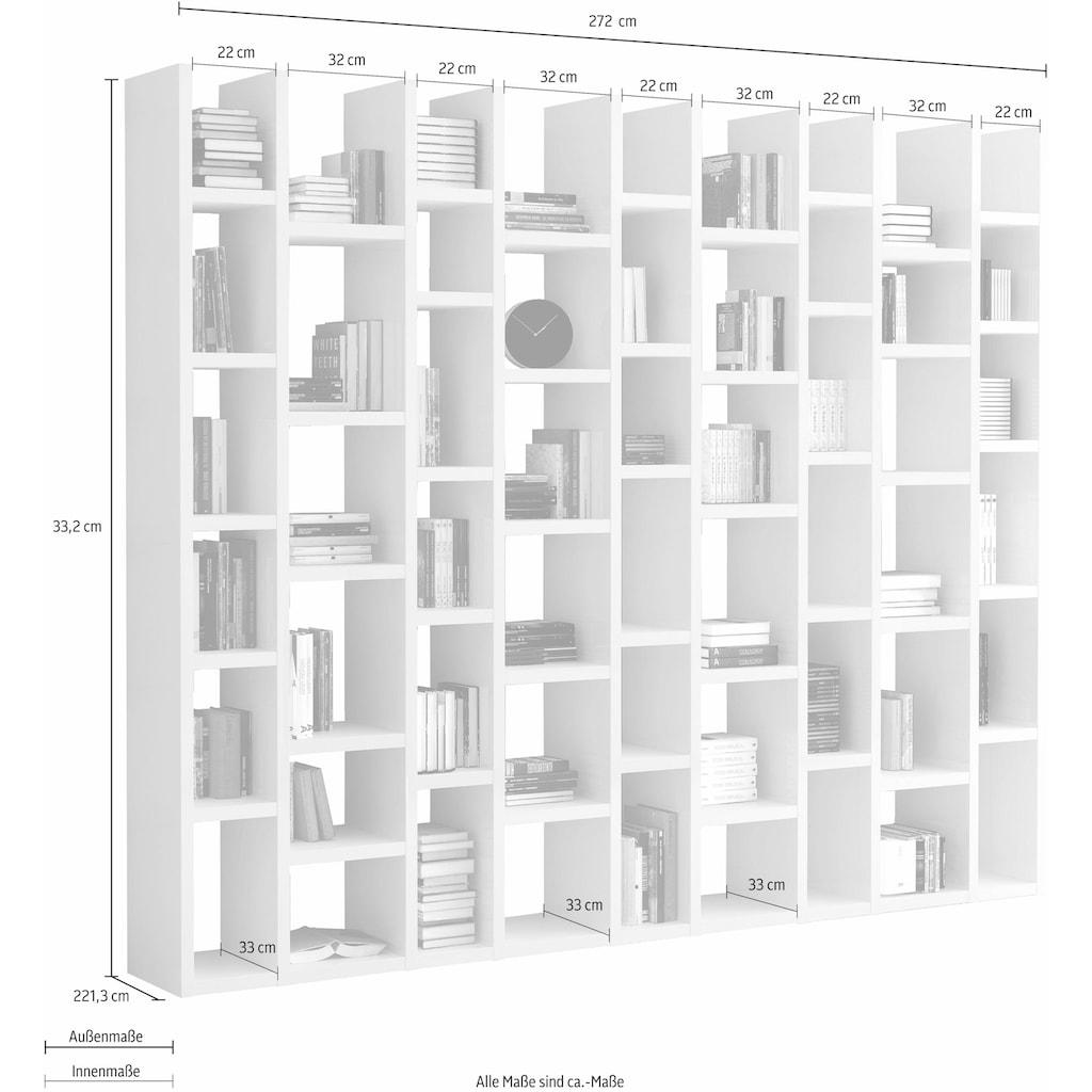 Raumteilerregal »TOR166«, Breite 272 cm