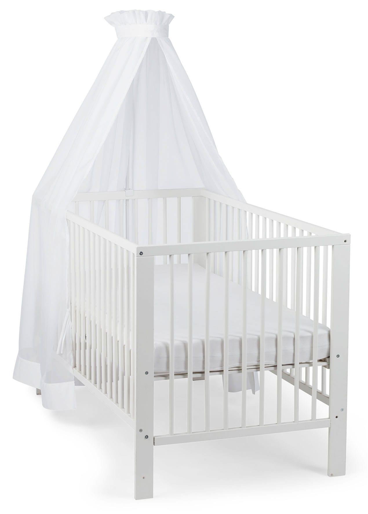 """Sterntaler Betthimmel """"weiß für Kinderbett"""" Wohnen/Möbel/Babymöbel/Babybettausstattung/Betthimmel"""