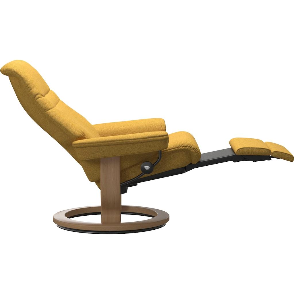 Stressless® Relaxsessel »Sunrise«, mit Classic Base und Power™, elektrisch verstellbar, optional 2-motorisch, Größe M & L, Gestell Eiche