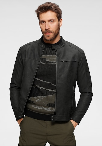 edc by Esprit Bikerjacke, mit Reißverschluss an Brusttasche kaufen