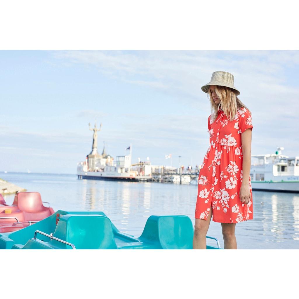 Aniston CASUAL Blusenkleid, mit Blumendruck - NEUE KOLLEKTION