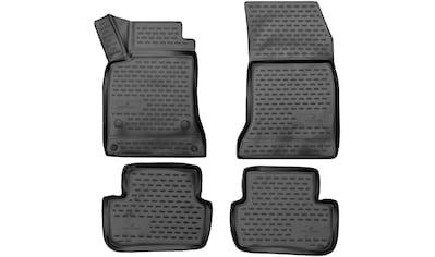 WALSER Passform-Fußmatten »XTR«, Mercedes, A-Klasse, Schrägheck, (4 St., 2... kaufen