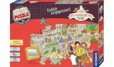 """Kosmos Puzzle """"Story Puzzle: Die Schule der magischen Tiere, Endlich Ausgegeistert!"""" kaufen"""