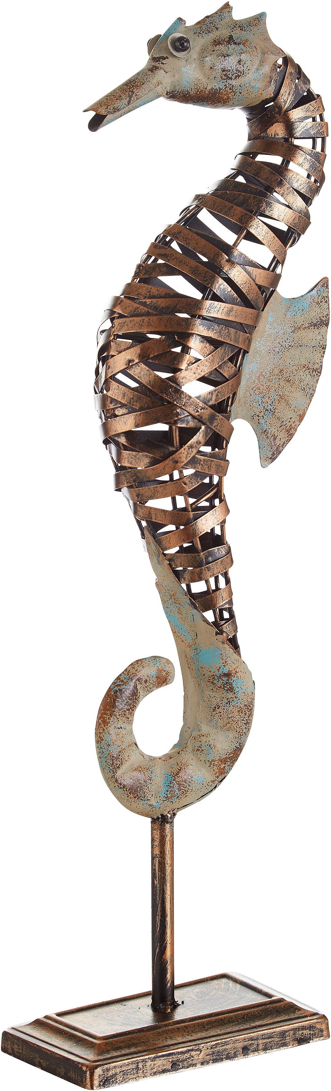 Home affaire Tierfigur, Seepferdchen grau Tierfiguren Figuren Skulpturen Wohnaccessoires Tierfigur