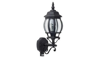 Brilliant Leuchten Istria Außenwandleuchte stehend Bewegungsmelder schwarz kaufen