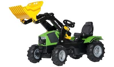 Rolly Toys Tretfahrzeug »Deutz-Fahr 5120«, Kindertraktor mit Lader und Luftbereifung kaufen