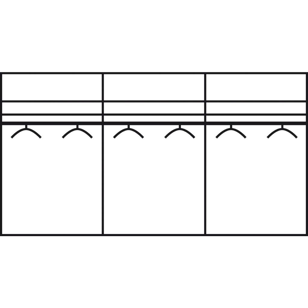 rauch ORANGE Schwebetürenschrank »Quadra«, mit Glaselementen