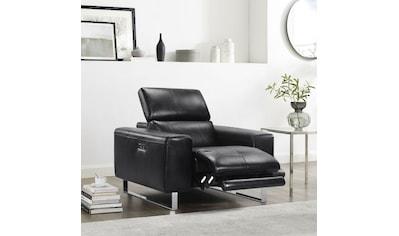 Sessel, mit elektrischer Relaxfunktion und manueller Kopfteilverstellung kaufen