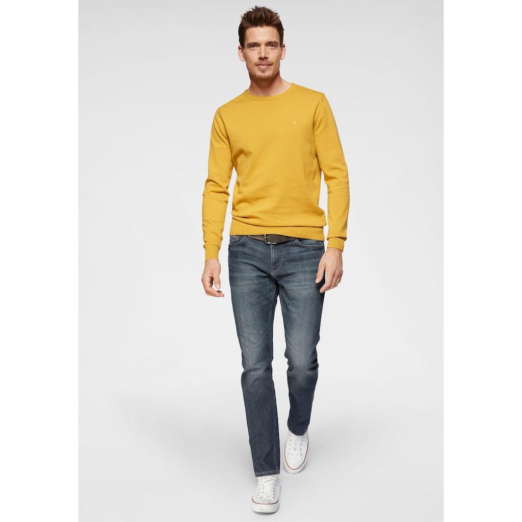 TOM TAILOR Straight-Jeans »Marvin«, 5-Pocket-Jeans