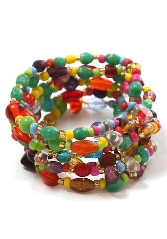 COLLEZIONE ALESSANDRO Armband »A2431-F29«, mit Glasperlen kaufen