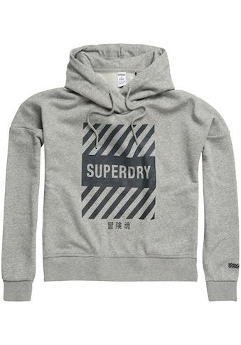 Superdry Sport Kapuzensweatshirt »TRAINING CORE SPORT CRO« kaufen