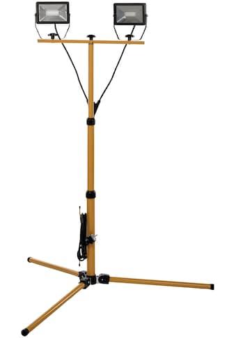 KOPP Flutlichtstrahler 50 Watt LED Baustrahler IP65 mit Teleskop Stativ kaufen