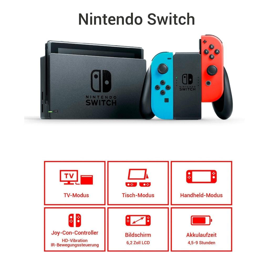 Nintendo Switch Konsolen-Set, inkl. Ring Fit Adventure
