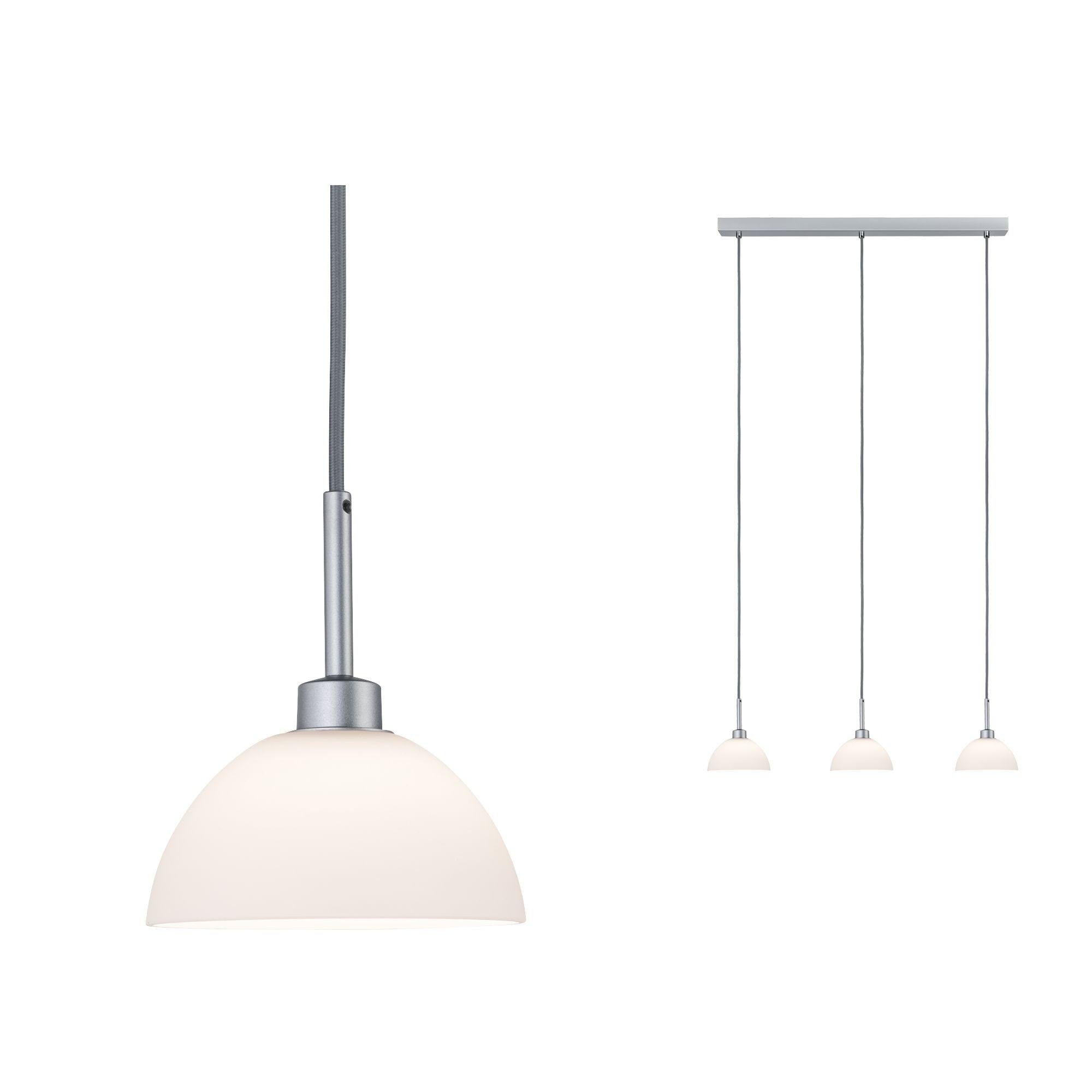 Paulmann,LED Pendelleuchte Parana Weiß/Chrom matt max. 40W GU10