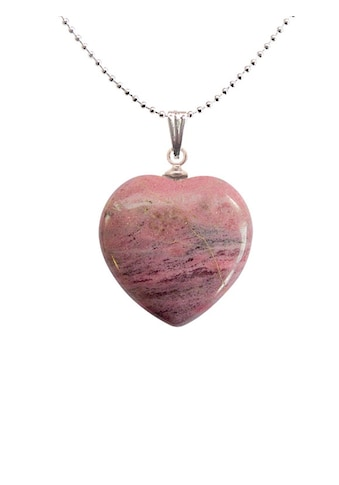 Adelia´s Amulett »Herz Steinanhänger«, Rhodonit Herzanhänger - die Vergebung kaufen