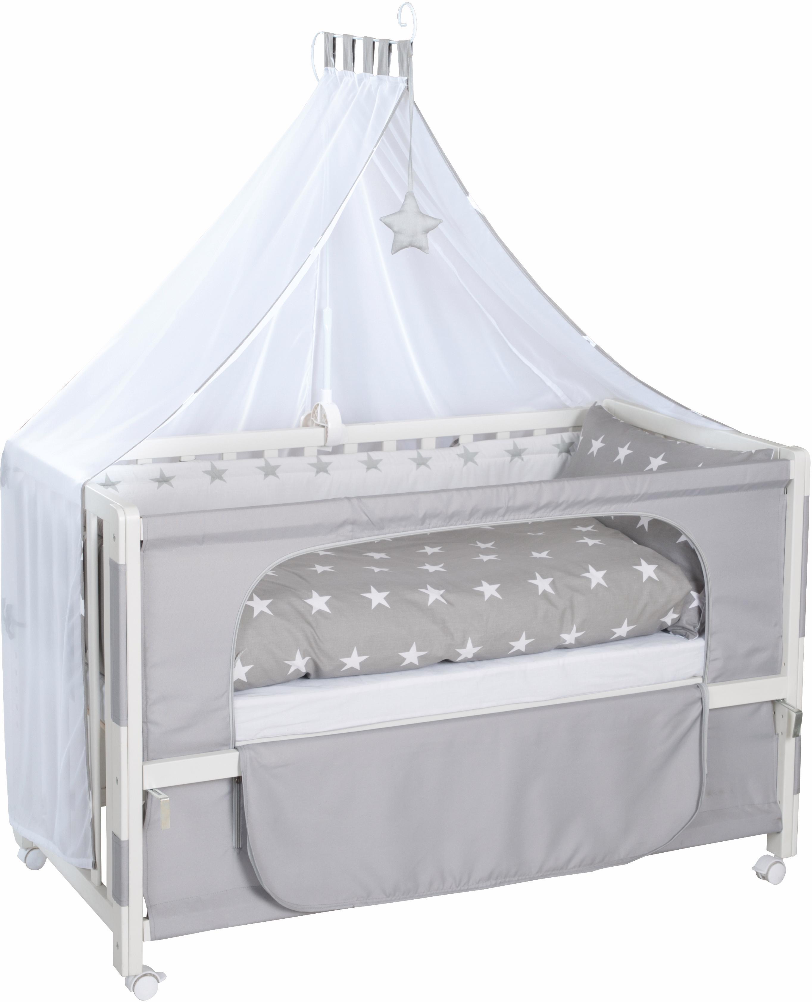 Roba Kinderbett, »Room bed, Little Stars«   Kinderzimmer > Kinderbetten > Kinderbetten   Weiß   ROBA