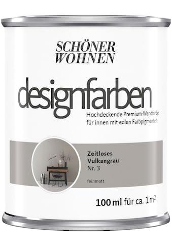 SCHÖNER WOHNEN-Kollektion Wand- und Deckenfarbe »Designfarben«, hochdeckend, Zeitloses... kaufen
