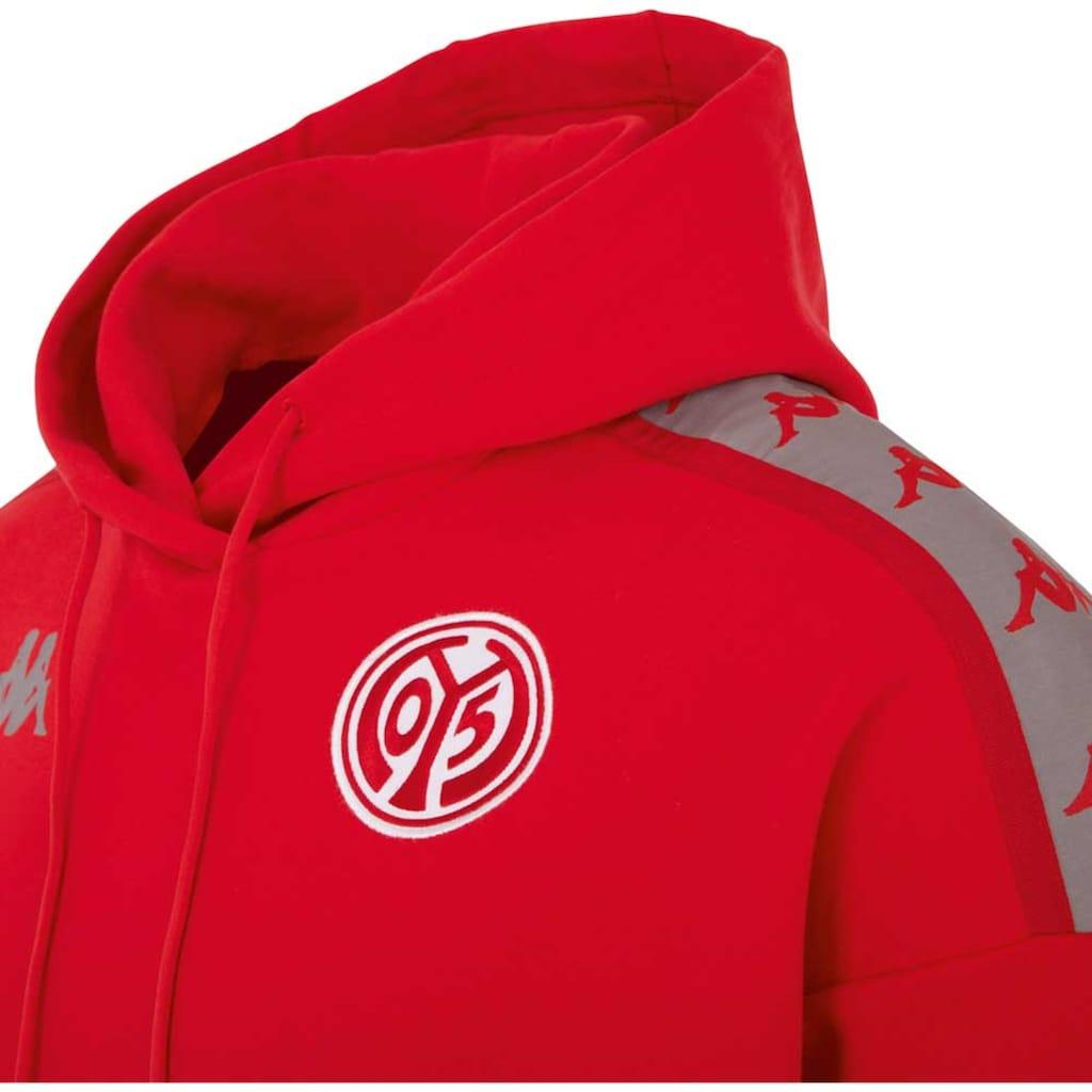 Kappa Kapuzensweatshirt »MAINZ 05«, mit Jacquard Logoband auf den Schultern<br />