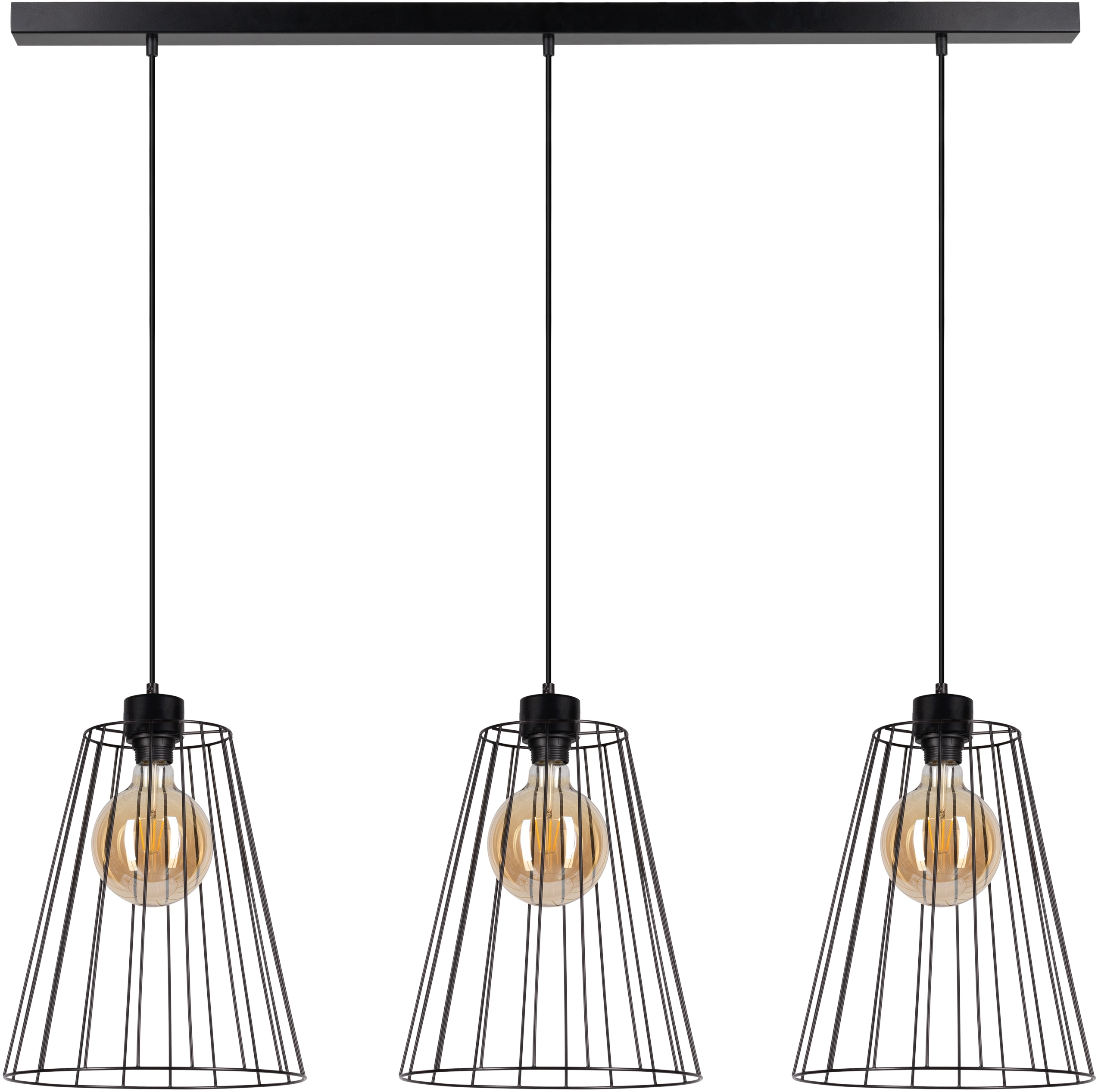 BRITOP LIGHTING Hängeleuchte Swan, E27, 1 St., Dekorative Leuchte aus Metall, passende LM E27 / exklusive, Made in Europe