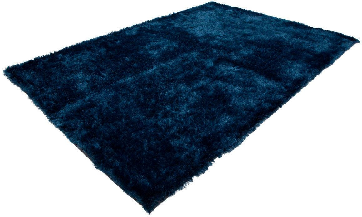 Hochflor-Teppich Twist 600 LALEE rechteckig Höhe 32 mm handgetuftet