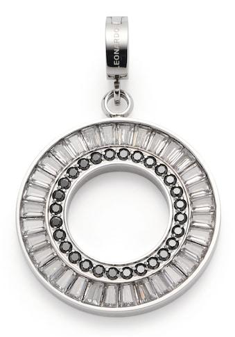 LEONARDO Charm-Einhänger »Ambra Clip&Mix, 018470«, mit Glassteinen und Zirkonia kaufen