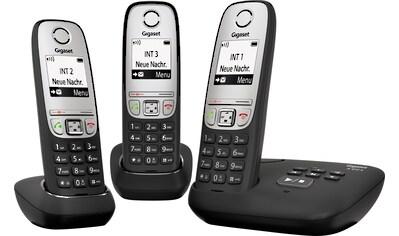 Gigaset »A415A Trio« Schnurloses DECT - Telefon (Mobilteile: 3) kaufen