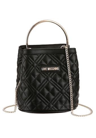 LOVE MOSCHINO Mini Bag, in gesteppter Optik und Tragering kaufen