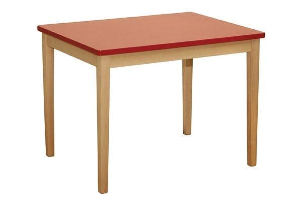 roba Kindertisch, für Kinder rot Ab 2 Jahren Altersempfehlung Kindertisch
