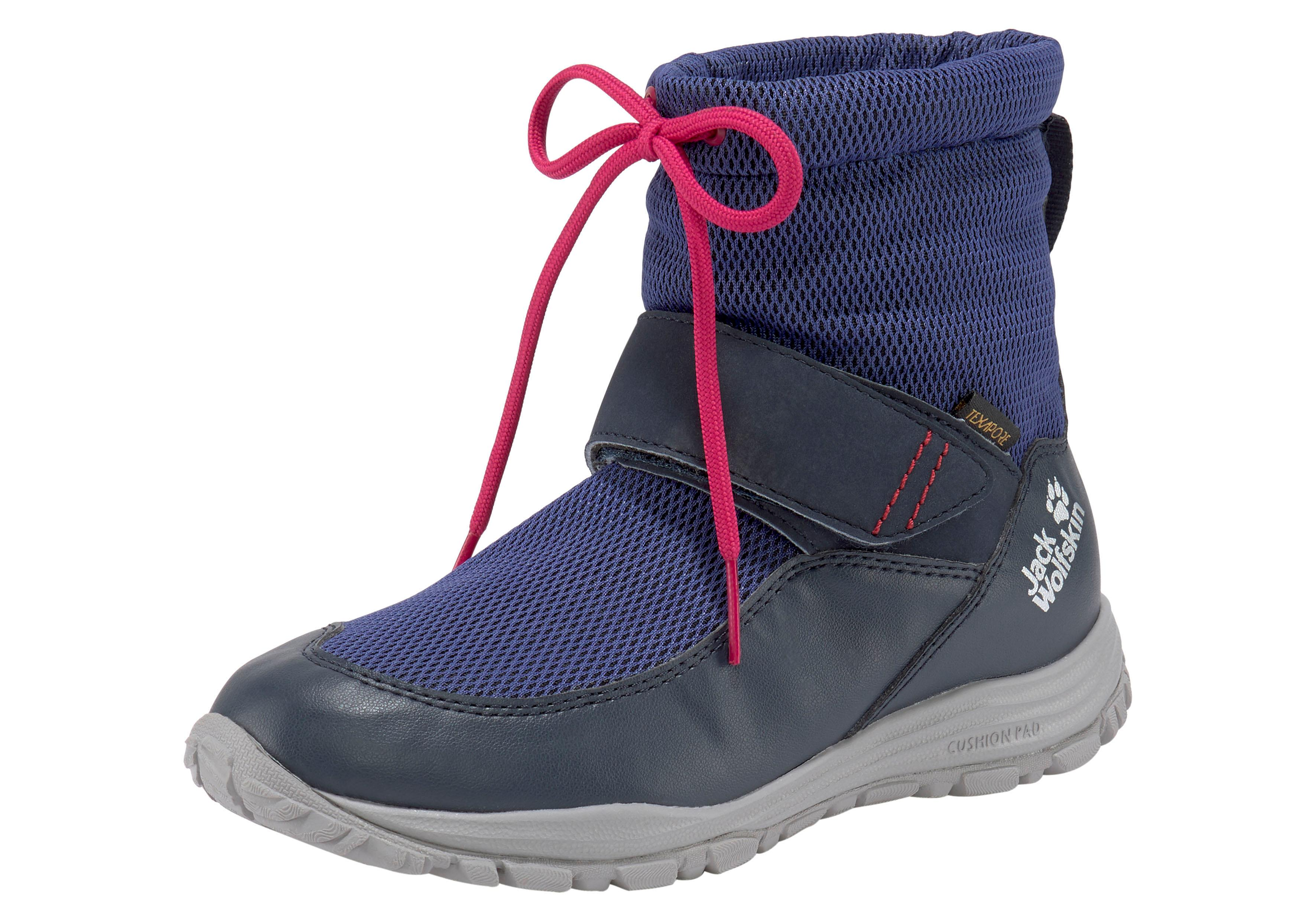 Jack Wolfskin Outdoorwinterstiefel Kiwi winterized Texapore Mid K | Schuhe > Outdoorschuhe > Outdoorwinterstiefel | Blau | Jack Wolfskin