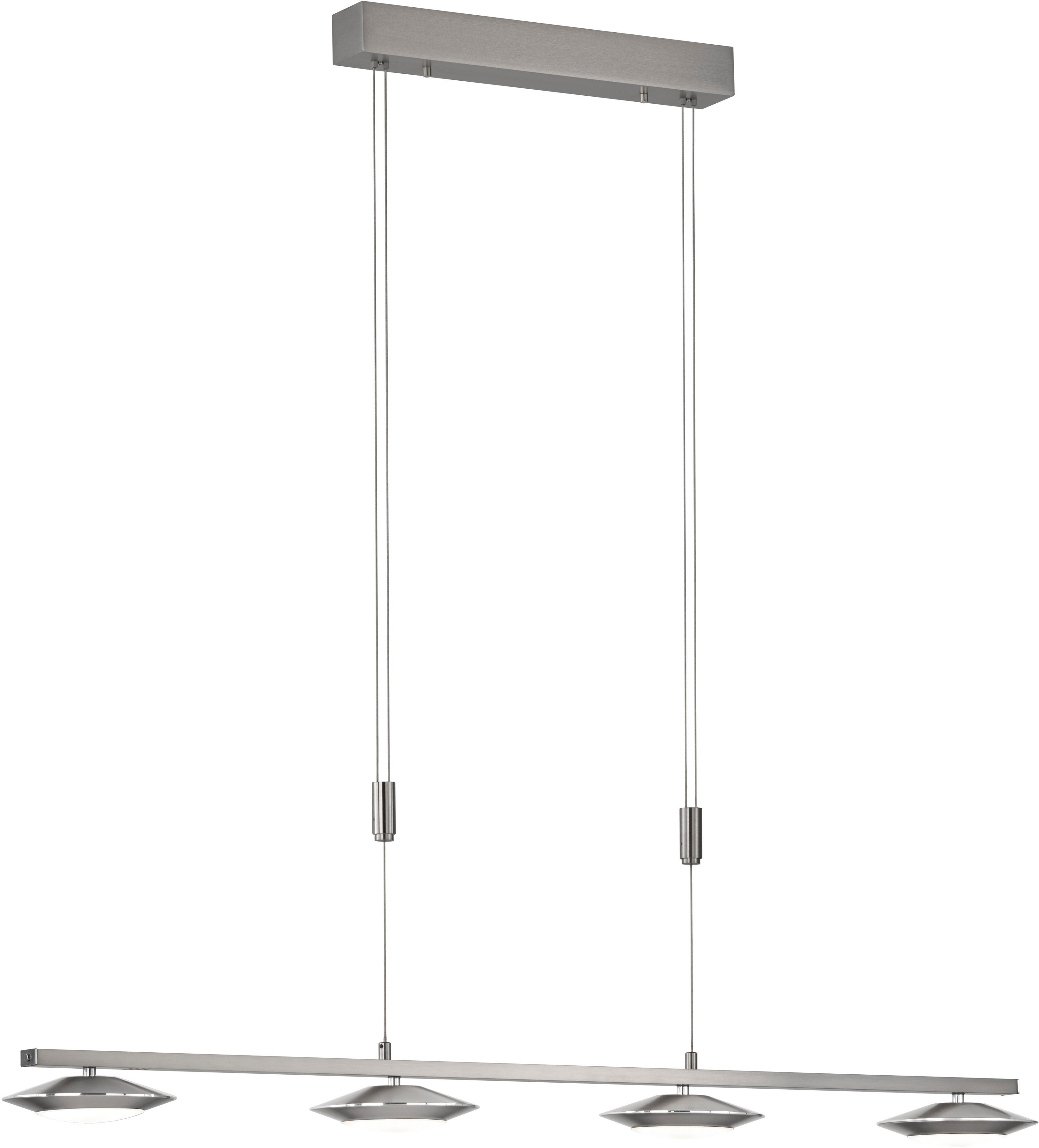 FISCHER & HONSEL LED-Hängeleuchte Beta Zig, LED-Board, 1 St., LED Pendelleuchte, LED Pendellampe