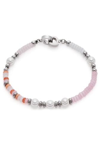 LEONARDO Edelstahlarmband »Someli Clip&Mix, 021172«, mit Kristallglas, Cat´s Eye kaufen