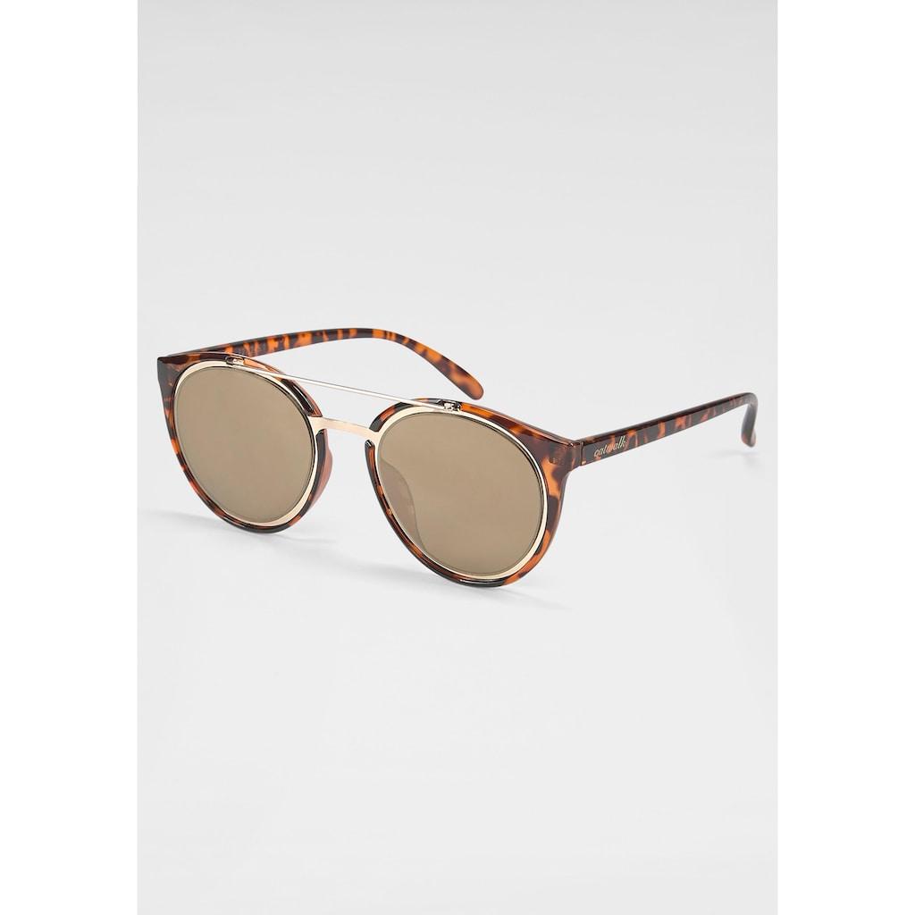 catwalk Eyewear Sonnenbrille, mit verspiegelten Gläsern