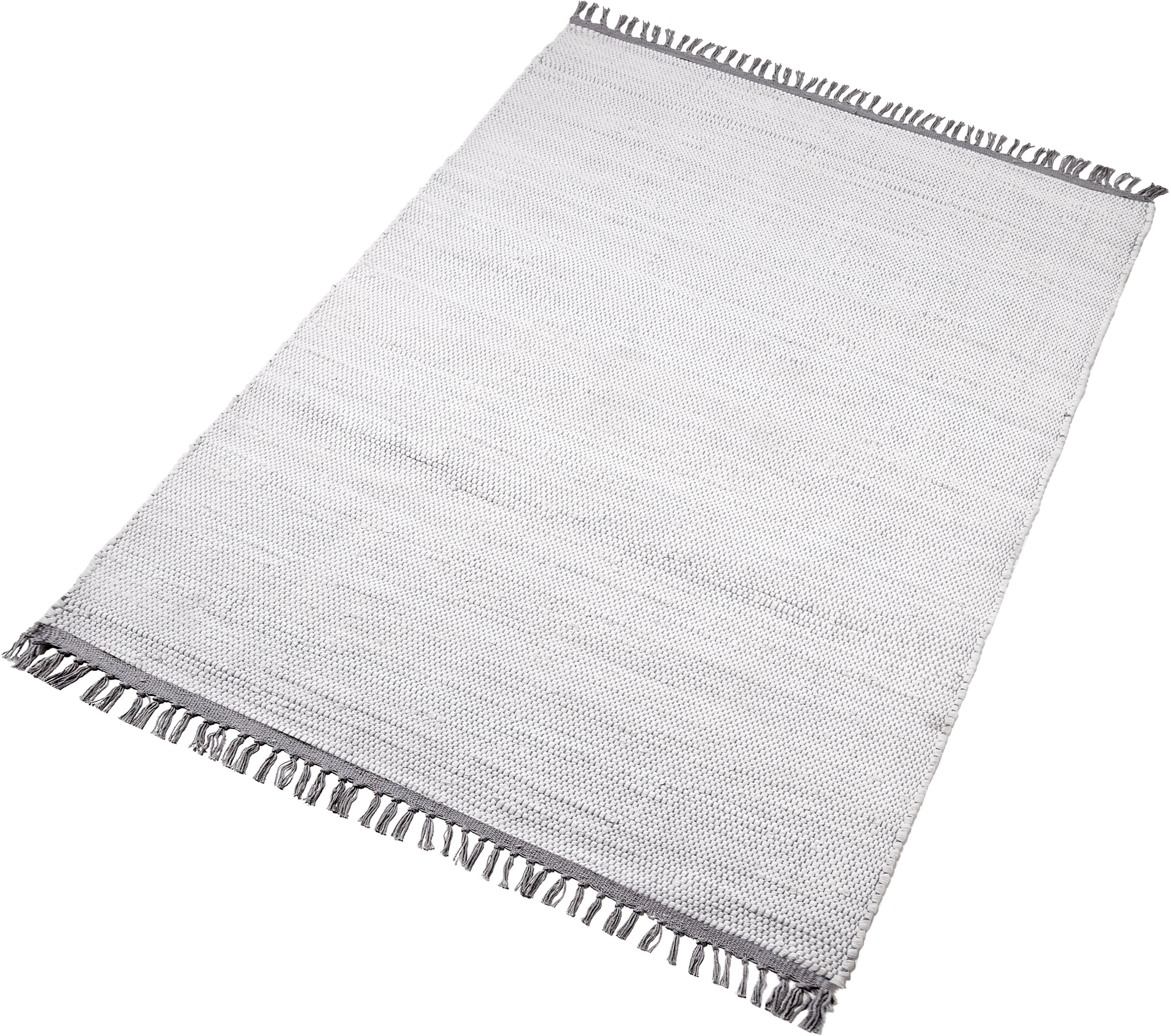 Teppich Fanoos Home affaire Collection rechteckig Höhe 5 mm handgewebt