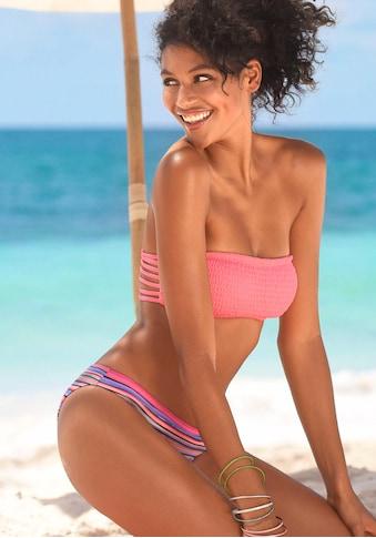 Homeboy Bikini-Hose »Kuba«, in klassischer Form mit Glanzstreifen kaufen