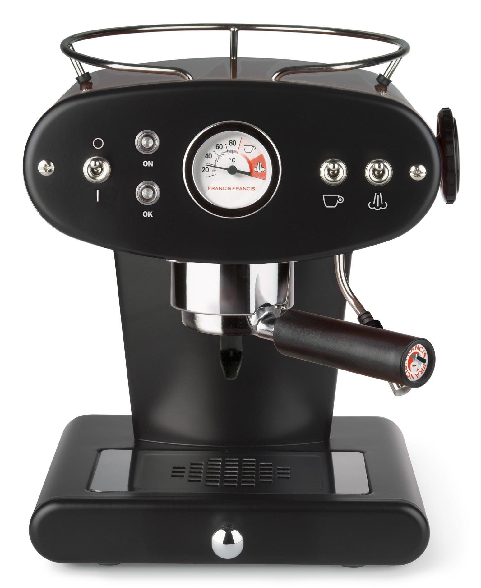 Illy Siebträgermaschine FrancisFrancis! X1 Ground Technik & Freizeit/Elektrogeräte/Haushaltsgeräte/Kaffee & Espresso/Espressomaschine