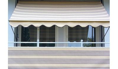Angerer Freizeitmöbel Balkonsichtschutz, Meterware, beige/braun, H: 90 cm kaufen