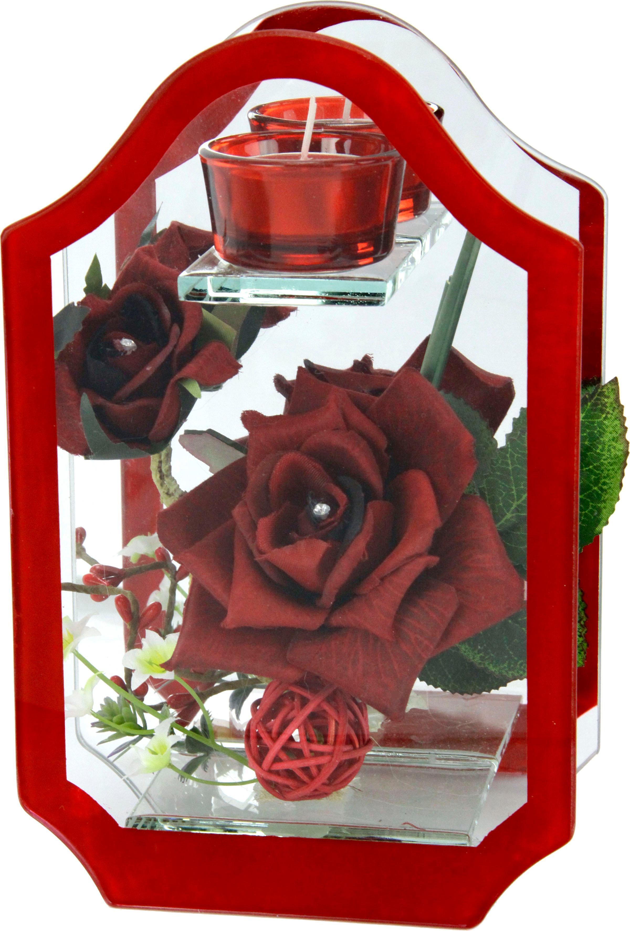 Kunstblume, rot