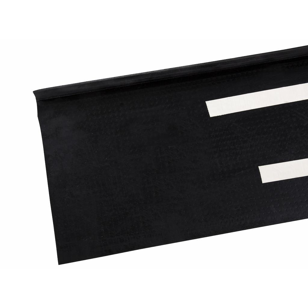 Andiamo Stufenmatte »Gummi«, rechteckig, 7 mm Höhe, Gummi-Stufenmatten, Treppen-Stufenmatten, 5 Stück, In- und Outdoor geeignet