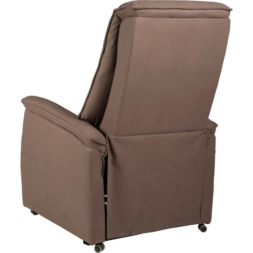 Duo Collection TV-Sessel »London XXL«, Fernsehsessel mit Aufstehhilfe bis zu 150 KG belastbar