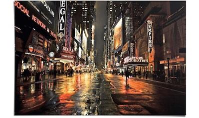 Reinders! Poster »Manhattan 42nd Street«, (1 St.) kaufen