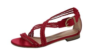 Sandalette mit geflochtenen Riemchen kaufen