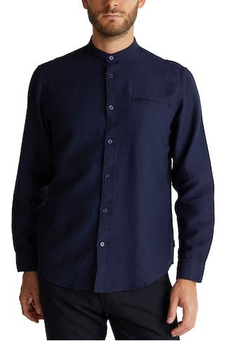 Esprit Langarmhemd, mit Mao-Kragen kaufen
