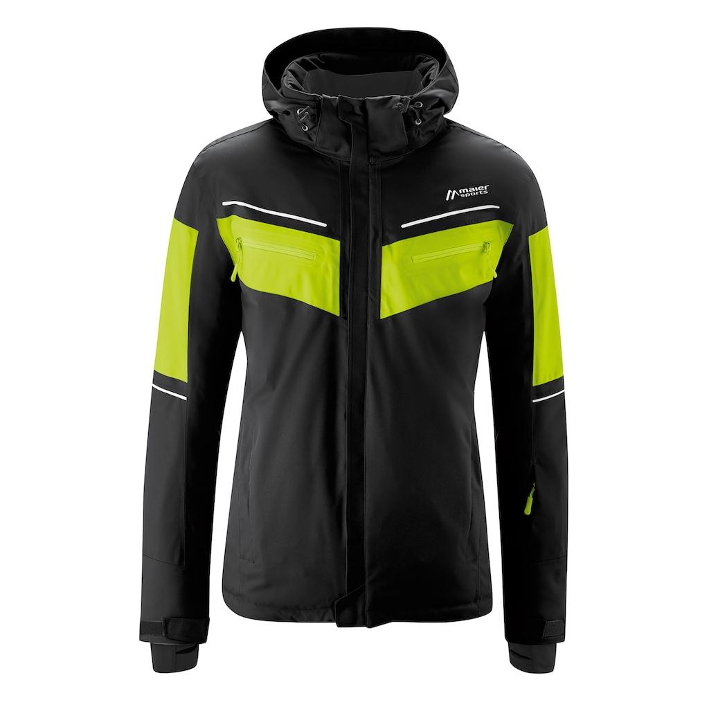 Maier Sports Skijacke »Podkoren«, Warm, wasserdicht, atmungsaktiv