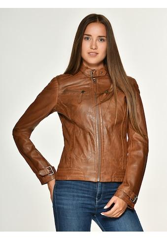 MUSTANG Lederjacke trendig »Ryana« kaufen